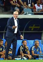 Trainer Janne Andersson (Schweden)<br /> Sotschi, 23.06.2018, FIFA Fussball WM 2018 in Russland, Vorrunde, <br /> Tyskland - Sverige<br /> <br /> Norway only