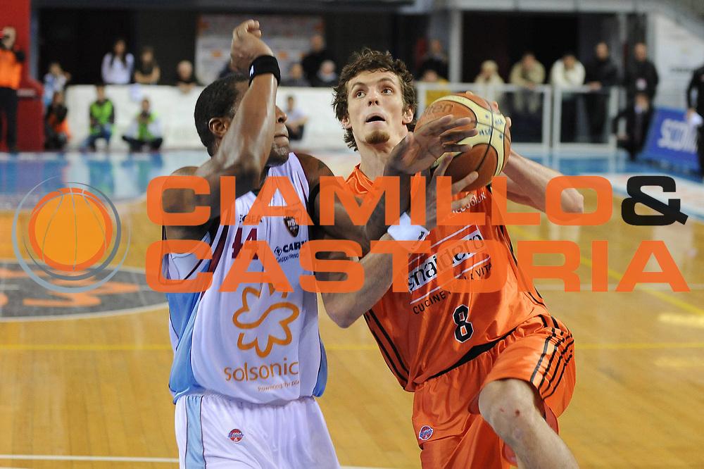 DESCRIZIONE : Rieti Lega A1 2008-09 Solsonica Rieti Snaidero Udine<br /> GIOCATORE : Benjamin Ortner<br /> SQUADRA : Snaidero Udine <br /> EVENTO : Campionato Lega A1 2008-2009 <br /> GARA : Solsonica Rieti Snaidero Udine<br /> DATA : 18/01/2009<br /> CATEGORIA : Penetrazione<br /> SPORT : Pallacanestro <br /> AUTORE : Agenzia Ciamillo-Castoria/E.Grillotti