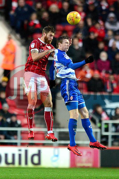 Nathan Baker of Bristol City - Mandatory by-line: Dougie Allward/JMP - 26/12/2017 - FOOTBALL - Ashton Gate Stadium - Bristol, England - Bristol City v Reading - Sky Bet Championship