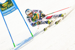 March 9, 2019 - Kranjska Gora, Kranjska Gora, Slovenia - Thomas Fanara of France in action during Audi FIS Ski World Cup Vitranc on March 8, 2019 in Kranjska Gora, Slovenia. (Credit Image: © Rok Rakun/Pacific Press via ZUMA Wire)