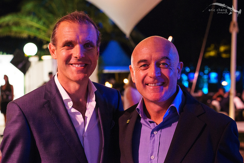 National Geographic buddies: Enric Sala and Manu San Felix