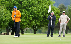 13.05.2011, Golfplatz, Zell am See - Kaprun, AUT, Golf und Ski WM 2011, im Bild Bode Miller (USA) // Bode Miller (USA) plays Golf during the Golf and Ski World Championships 2011, Golf Course Zell am See - Kaprun, 2011-05-13, EXPA Pictures © 2011, PhotoCredit: EXPA/ J. Feichter