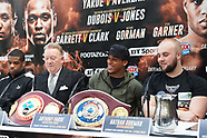 Frank Warren Boxing press Conference