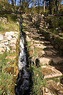 The Incas staircase on the Island of the Sun, Lake Titicaca, Bolivia.