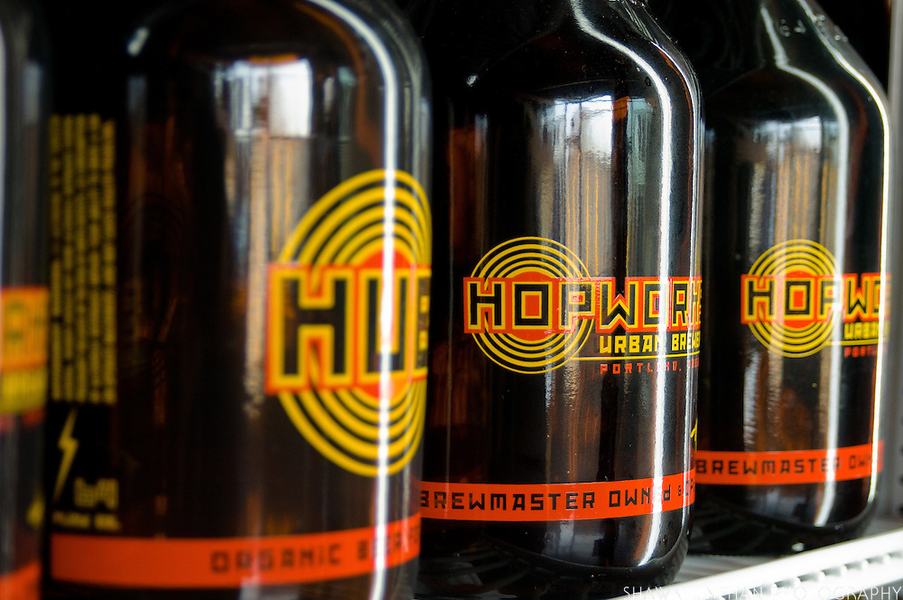 Buying growlers saves on glass. HUB Growlers allow you to take home 64 oz of beer. Using growlers saves on bottles.