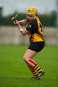 24/09/2016, Senior Camogie Final at Trim.<br /> Kilmessan vs Na Fianna<br /> Katie Mulvihill in action for Na Fianna<br /> Photo: David Mullen /www.cyberimages.net / 2016<br /> ISO: 1000; Shutter: 1/1328; Aperture: 4; <br /> File Size: 2.7MB<br /> Print Size: 5.8 x 8.6 inches