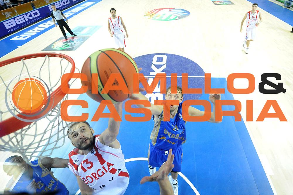 DESCRIZIONE : Klaipeda Lithuania Lituania Eurobasket Men 2011 Preliminary Round Georgia Ucraina Georgia Ukraine<br /> GIOCATORE : Viktor Sanikidze<br /> SQUADRA : Georgia<br /> EVENTO : Eurobasket Men 2011<br /> GARA : Georgia Ucraina Georgia Ukraine<br /> DATA : 04/09/2011<br /> CATEGORIA : tiro special<br /> SPORT : Pallacanestro <br /> AUTORE : Agenzia Ciamillo-Castoria/C.De Massis<br /> Galleria : Eurobasket Men 2011<br /> Fotonotizia : Klaipeda Lithuania Lituania Eurobasket Men 2011 Preliminary Round Georgia Ucraina Georgia Ukraine<br /> Predefinita :