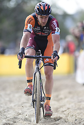 October 20, 2018 - Boom, France - SOETE Daan (BEL) of PAUWELS SAUZEN - VASTGOEDSERVICE in action during the 2nd leg of the men elite and U23 Telenet Superprestige cyclocross race (Credit Image: © Panoramic via ZUMA Press)