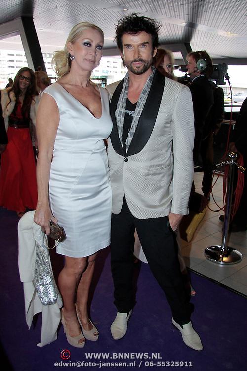 NLD/Amsterdam/20110515 - Coiffure awards 2011, Mari van der Ven en .............