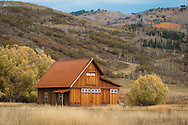 This small barn serves as the Elkstone farm stand in the Strawberry Park area of Steamboat Springs, CO.