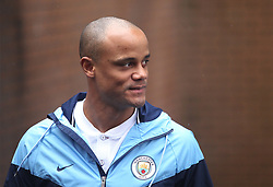 Vincent Kompany of Manchester City arrives before the match - Mandatory by-line: Jack Phillips/JMP - 03/02/2018 - FOOTBALL - Turf Moor - Burnley, England - Burnley v Manchester City - English Premier League