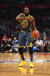 STYLEPREPENDLOS ANGELES, CA - NOVEMBER 12: Golden State Warriors Forward Draymond Green (23) tries to set up the offense during a NBA game between the Golden State Warriors and the Los Angeles Clippers on November 12, 2018 at STAPLES Center in Los Angeles, CA. (Photo by Brian Rothmuller/Icon Sportswire) (Credit Image: © Brian Rothmuller/Icon SMI via ZUMA Press)