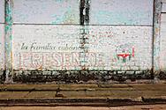 Revolutionary sign in Baracoa, Guantanamo, Cuba.