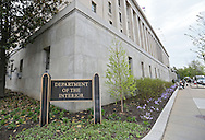 The United States Department of the Interior in Washington, DC on Monday, April 15, 2013.