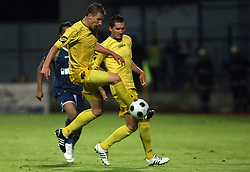 Dzengis Cavusevic of Domzale at 1st football game of 2nd Qualifying Round for UEFA Champions league between NK Domzale vs HNK Dinamo Zagreb, on July 30, 2008, in Domzale, Slovenia. Dinamo won 3:0. (Photo by Vid Ponikvar / Sportal Images)