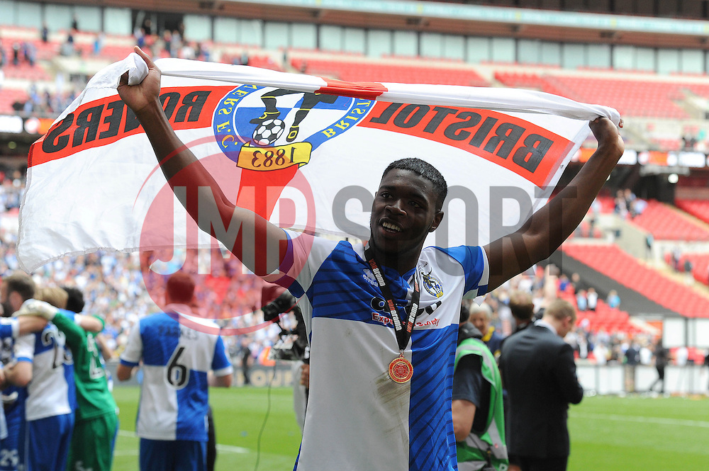 Bristol Rovers' Nathan Blissett  - Photo mandatory by-line: Dougie Allward/JMP - Mobile: 07966 386802 - 17/05/2015 - SPORT - football - London - Wembley Stadium - Bristol Rovers v Grimsby Town - Vanarama Conference Football