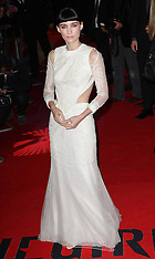 The Girl with the Dragon Tattoo premiere