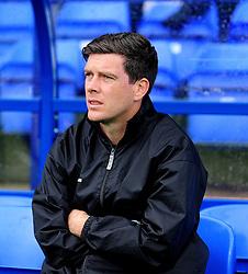 Bristol Rovers Manager, Darrell Clarke - Photo mandatory by-line: Neil Brookman/JMP - Mobile: 07966 386802 - 08/11/2014 - SPORT - Football - Birkenhead - Prenton Park - Tranmere Rovers v Bristol Rovers - FA Cup - Round One