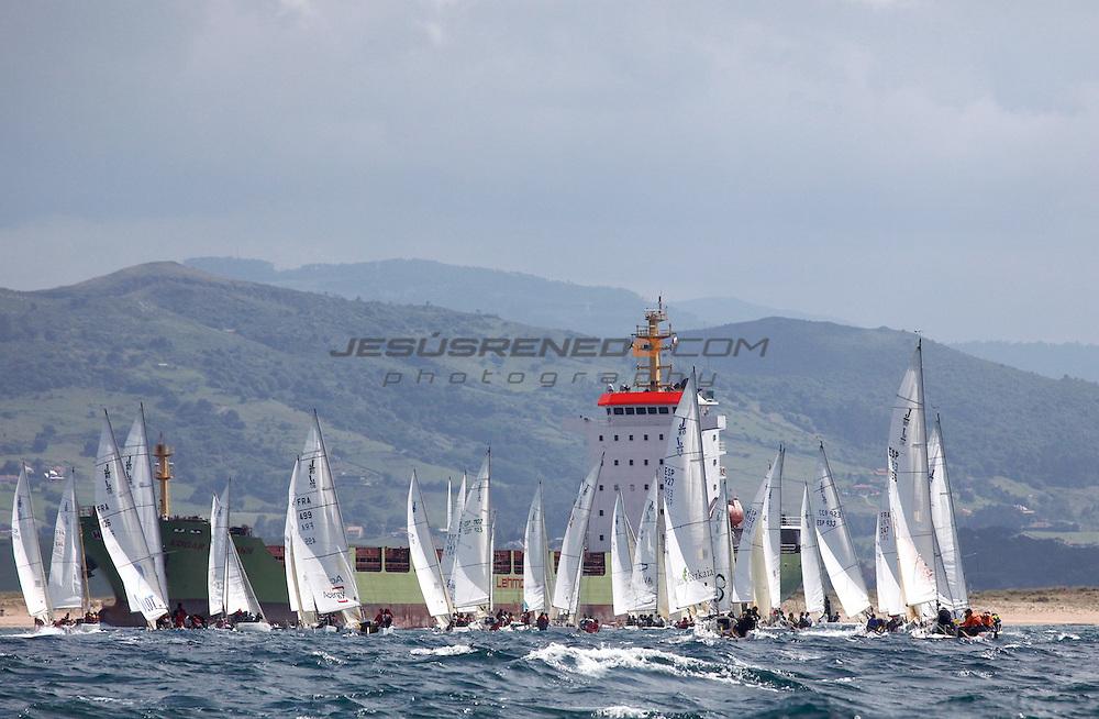 santader worlds j80,regatas 1-2-3