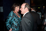 KEVIN SPACEY; MERCEDES RUEHL;  The Old Vic at the Vaudeville Theatre ' The Prisoner of Second Avenue'  press night. After-party at Jewel. 13 July 2010. -DO NOT ARCHIVE-© Copyright Photograph by Dafydd Jones. 248 Clapham Rd. London SW9 0PZ. Tel 0207 820 0771. www.dafjones.com.