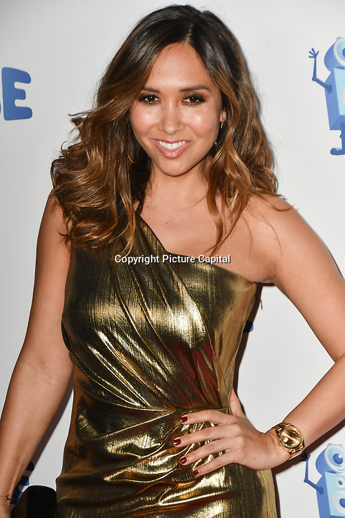 Myleene Klass arrivers at the Global's Make Some Noise Night at Finsbury Square Marquee on 20 November 2018, London, UK.