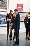 DALAL ELHABASHI; MALIHA TABARIA; CHARLIE PHILLIPS, Art13 London First night, Olympia Grand Hall, London. 28 February 2013