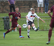 Dundee's Josh Skelly fires in a shot - North End v Dundee XI, pre season friendly at North End Park<br /> <br />  - &copy; David Young - www.davidyoungphoto.co.uk - email: davidyoungphoto@gmail.com