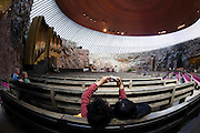 "Tempeliaukio Church, the famous ""Rock Church""."