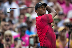 May 13, 2018 - Ponte Vedra Beach, FL, USA - The Players Championship 2018 at TPC Sawgrass..Tiger Woods on # 3 tee. (Credit Image: © Bill Frakes via ZUMA Wire)