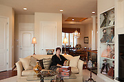 25 September 2012- Amy Boesen with.Décor & You Interior Decorator is photographed in Omaha, Nebraska.