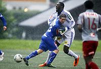 Fotball , 17. juli 2011 , Addecoligaen , 1. divisjon<br /> Strømmen - Sandefjord 0-3<br /> Ørjan Røyrane ,  Sandefjord<br /> Duwayne Kerr , Strømmen