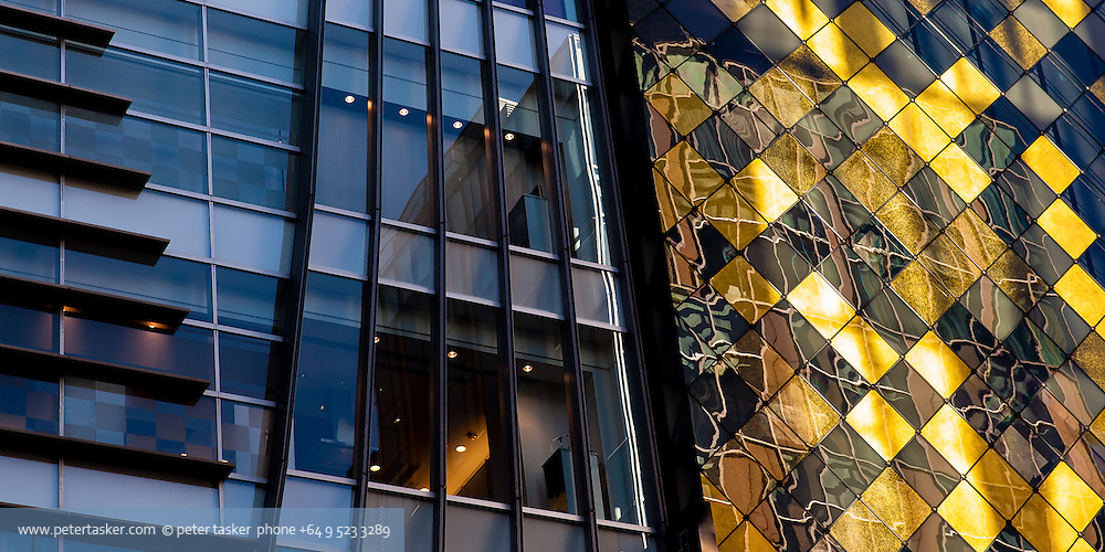Tokyo architectural patterns.