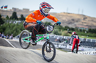 Men Elite #42 (SCHIPPERS Jay) NED the 2018 UCI BMX World Championships in Baku, Azerbaijan.