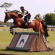 Tiffani Loudon-Metze and Lo Fino at the Florida International in Ocala, Florida.