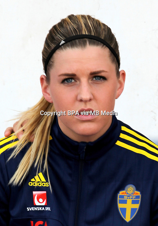 Fifa Womans World Cup Canada 2015 - Preview //<br /> Algarve Cup 2015 Tournament ( Vila Real San Antonio Sport Complex - Portugal ) - <br /> Germany vs Sweden 2-4   -  Olivia Schough of Sweden