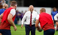 Rugby Union - 2019 Rugby World Cup - Quarter-Final: England vs. Australia<br /> <br /> Eddie Jones head coach of England at Oita Stadium, Oita Prefecture.<br /> <br /> COLORSPORT/LYNNE CAMERON