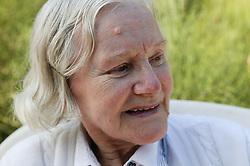 Portrait of an elderly lady,
