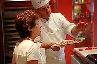 "Lenotre Ecole Culinaire, Paris,..short course - ""Return to the Market"" with Chef Jacky Legras....photo by Owen Franken for the NY Times..July 12, 2007......."