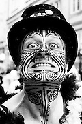 Slavnost masek or festival of the mask, is an annual festival held in Brno in the main square, Namesti Svobody.<br /> It is the closing event of the international theater festival Theater of the world (Divadelní sv?t)