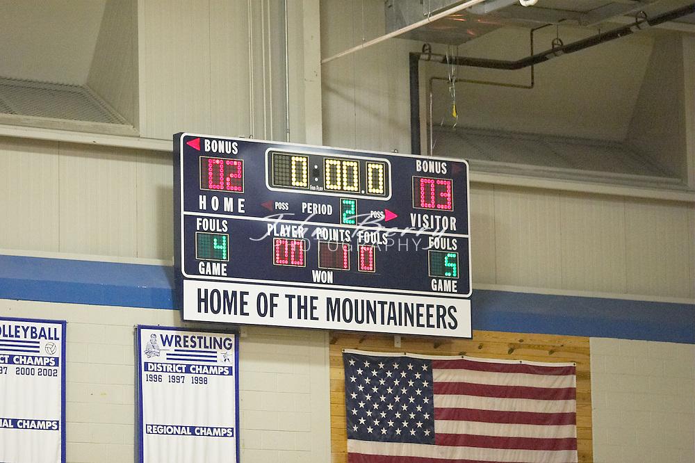 8th Grade Girls Basketball..Second Period..vs North Fork..December 2, 2004