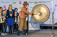 24-1-2017 UTRECHT - Koningin Maxima opent dinsdag 24 januari de Nationale Onderwijstentoonstelling in de Jaarbeurs in Utrecht. Dat doet zij samen met minister Bussemaker van Onderwijs, Cultuur en Wetenschap. Copyright ROBIN UTRECHT<br /> <br /> 24-1-2017 UTRECHT - Queen Maxima opens Tuesday, January 24th, the National Education Exhibition in the Jaarbeurs in Utrecht. It does this with Bussemakerhuis Minister of Education, Culture and Science. Copyright ROBIN UTRECHT