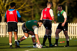 Kai Owen of England Under 20s  - Mandatory by-line: Robbie Stephenson/JMP - 08/01/2019 - RUGBY - Bisham Abbey National Sports Centre - Bisham Village, England - England Under 20s v  - England Under 20s Training