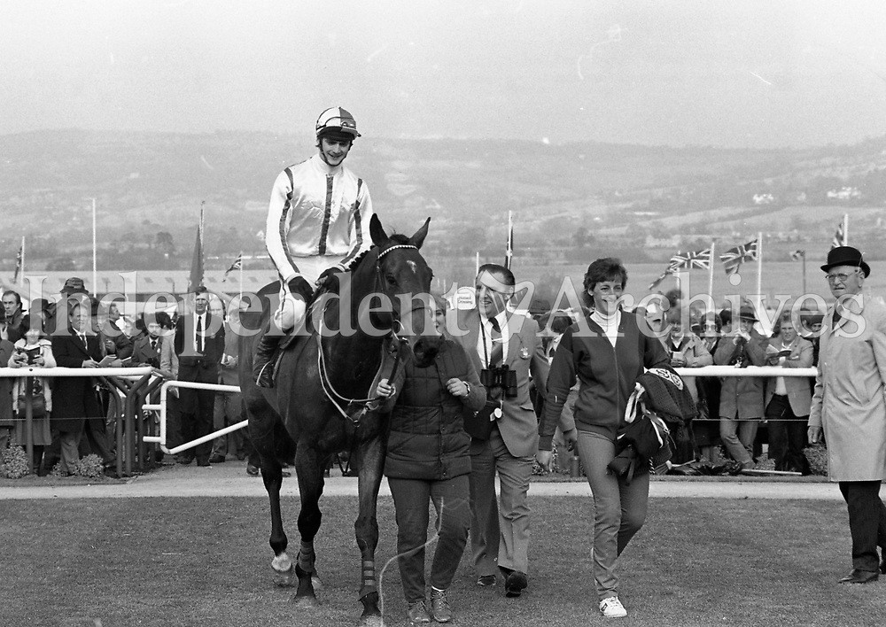 Cheltenham Day 1 in Gloucestershire, England, circa March 1986 (Part of the Independent Newspapers Ireland/NLI Collection).