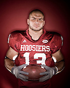 14 August 2007: Indiana's Andrew Means poses for a portrait during media day in Bloomington, Ind.