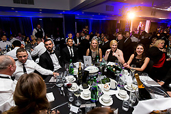Marlon Pack and Korey Smith looks on as Bristol Sport hosts their annual Gala Dinner at Ashton Gate Stadium - Rogan/JMP - 05/12/2018 - SPORT - Ashton Gate Stadium - Bristol, England - Bristol Sport Gala Dinner 2018.