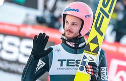 17.03.2018, Vikersundbakken, Vikersund, NOR, FIS Weltcup Ski Sprung, Raw Air, Vikersund, Team, im Bild Manuel Fettner (AUT) // Manuel Fettner of Austria during Team Competition of the 4th Stage of the Raw Air Series of FIS Ski Jumping World Cup at the Vikersundbakken in Vikersund, Norway on 2018/03/17. EXPA Pictures © 2018, PhotoCredit: EXPA/ JFK