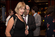 NICOLA GOOCH; NORMAN LAMONT, Ralph Lauren host launch party for Nicky Haslam's book ' A Designer's Life' published by Jacqui Small. Ralph Lauren, 1 Bond St. London. 19 November 2014