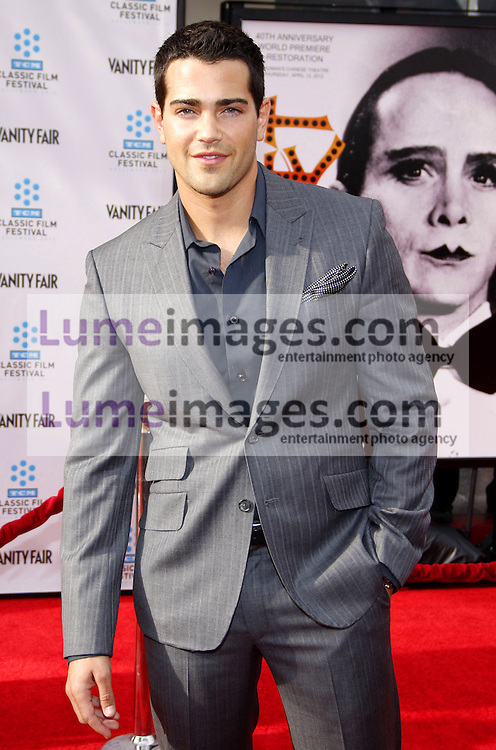 Jesse Metcalfe at the 2012 TCM Classic Film Festival Gala Screening of 'Cabaret' held at the Grauman's Chinese Theater in Hollywood on April 12, 2012.