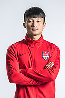 **EXCLUSIVE**Portrait of Chinese soccer player Liu Weidong of Chongqing Dangdai Lifan F.C. SWM Team for the 2018 Chinese Football Association Super League, in Chongqing, China, 27 February 2018.