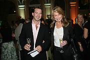 Anahita Resort launch party. Wallace Collection. London. 12 September 2007. ( Photo by Dafydd Jones) Nicolas Vaudin;Maureen Sullivan-Smith;  -DO NOT ARCHIVE-© Copyright Photograph by Dafydd Jones. 248 Clapham Rd. London SW9 0PZ. Tel 0207 820 0771. www.dafjones.com.